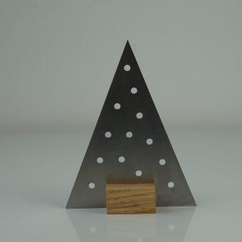 Edelstahl weihnachtsbaum charlotte sama metalldesign for Design weihnachtsbaum edelstahl