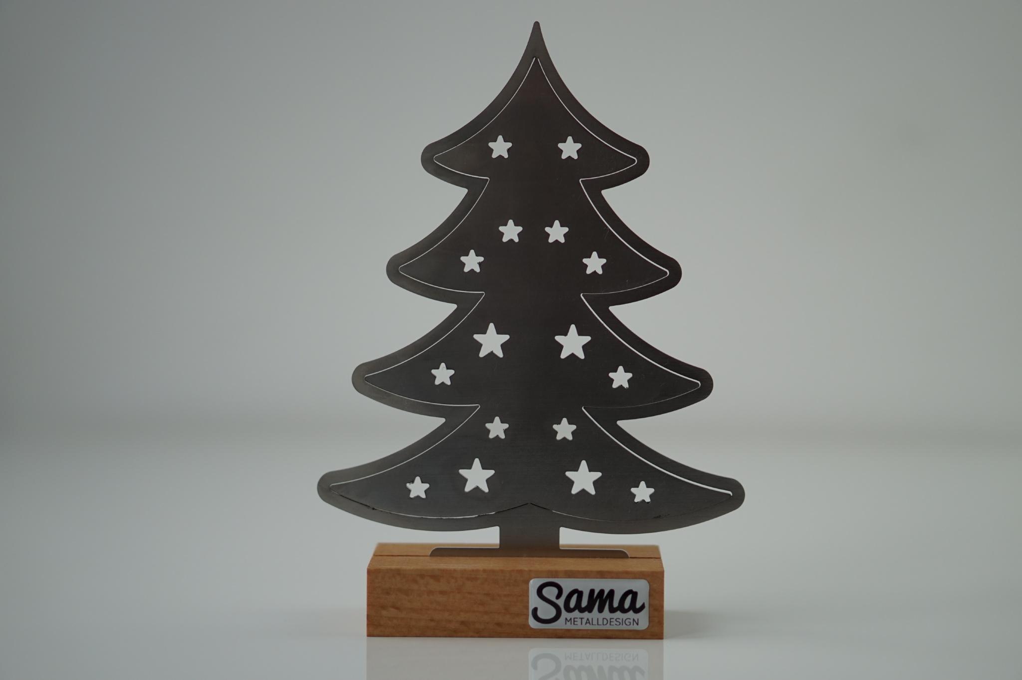 weihnachtsbaum ludwig aus edelstahl sama metalldesign. Black Bedroom Furniture Sets. Home Design Ideas