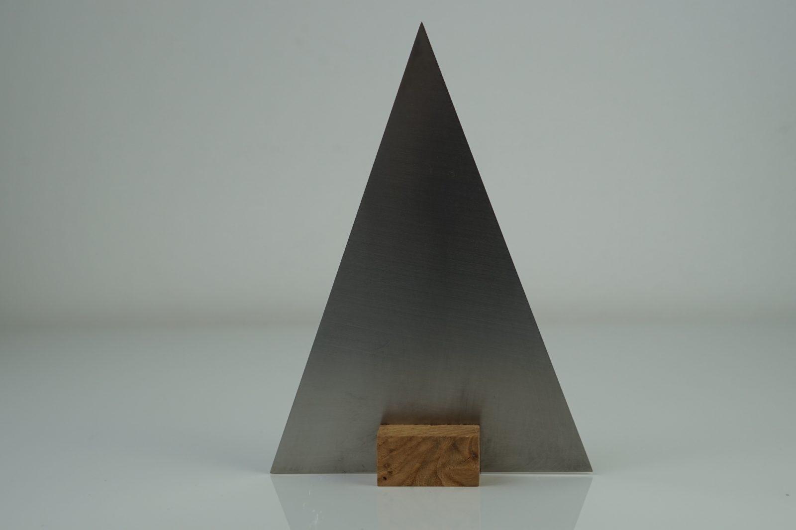 Edelstahl weihnachtsbaum herbert sama metalldesign for Design weihnachtsbaum edelstahl